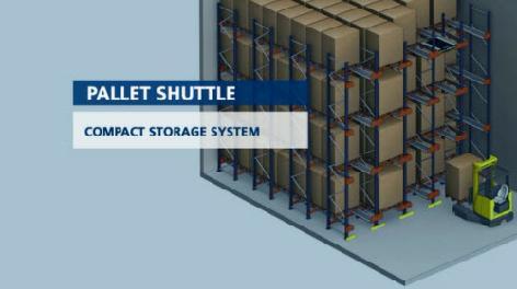 Pallet Shuttle: Mekiki depolama sistemi