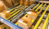 Kutulu Ürünler için Makaralı Raf Sistemi