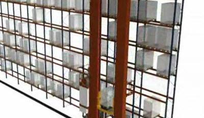 Tek derinlikli raflardaki çift kolonlu robotlar: Birleşik çevrimler